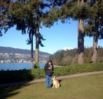 Scott & Rob in Stanley Park
