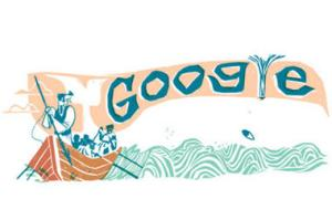google doodle, moby dick, melville