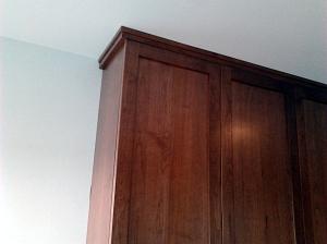 kitchen, cabinet trim