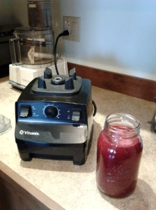 dunthor beet apple smoothie