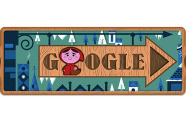 Red Riding Hood in Today's Google Doodle