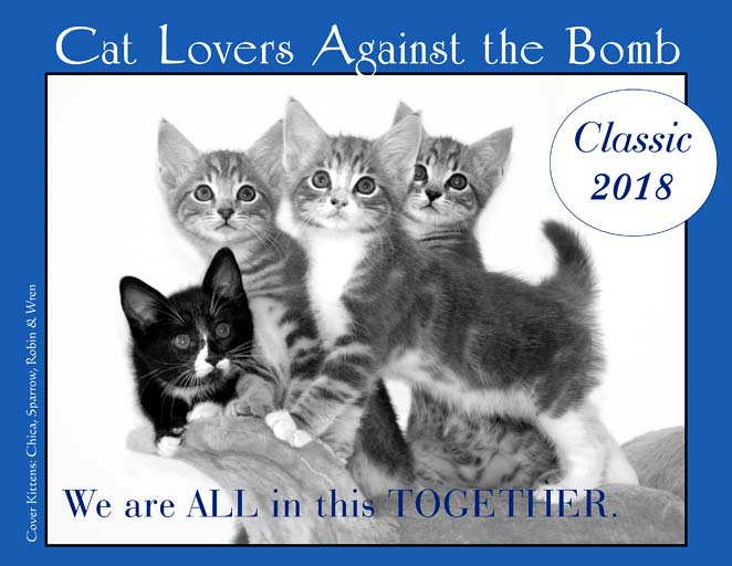 Cat Lovers Calendar 2018